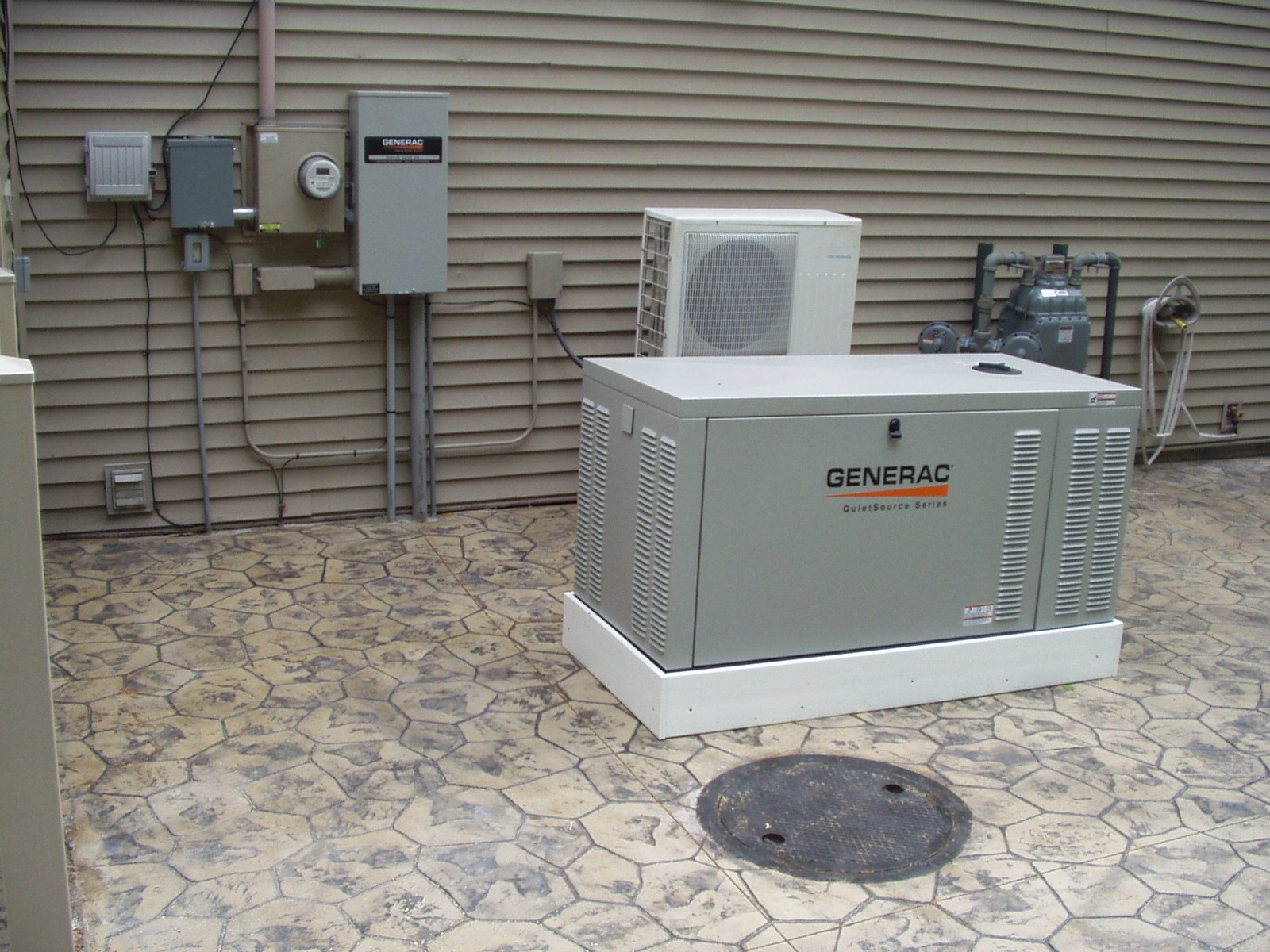 Water Cooled Generac Generator